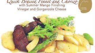 Nicholsonfinefoods - Fennel & Chorizo With Summer Mango Finishing Vinegar