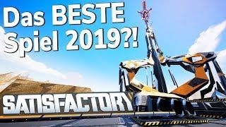 Das BESTE Spiel 2019?! - Satisfactory mit Zander