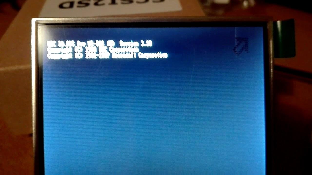 PC-XT Emulator On ESP8266 | Hackaday
