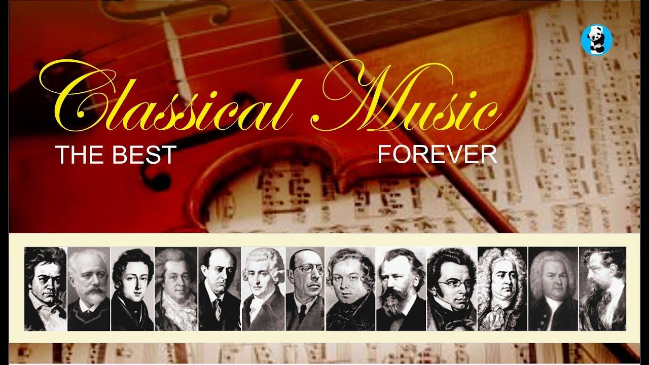 Classic Music 1 Música Clásica 1 Beethoven Mozart Bach Vivaldi Chopin Wagner Verdi Etc Youtube