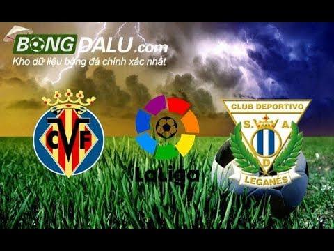 Villarreal V Leganes-Giải VĐQG Tây Ban Nha - 2018