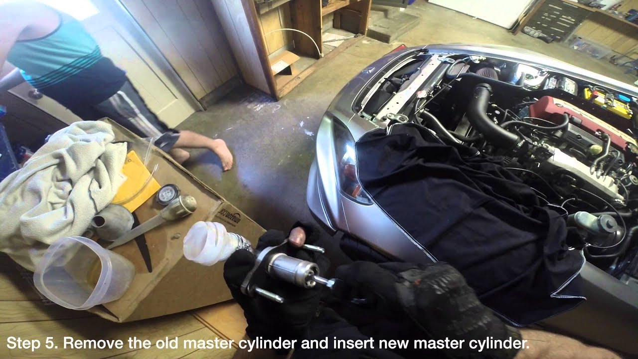 clutch master cylinder replacement ap2 v1 honda s2000 [ 1280 x 720 Pixel ]