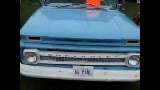 1964 CHEVY C-10 PANEL TRUCK --  A DIFFERENT TYPE OF WORK TRUCK