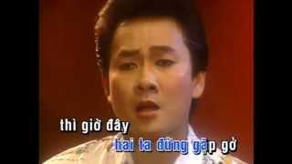 (Karaoke) Minh Ky - Nguoi yeu co don (TAN CO)