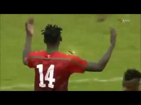 Michael Olunga's lone goal against Sierra Leone in Freetown