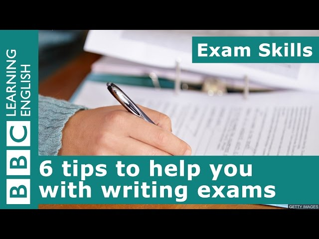 Exam skills: 6 tips to help you with writing exams