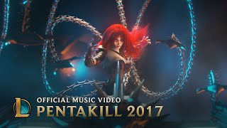 pentakill  mortal reminder  official music video    league of legends music