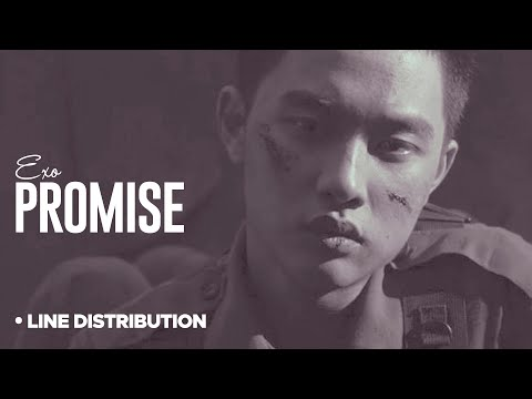 EXO - Promise: Line Distribution