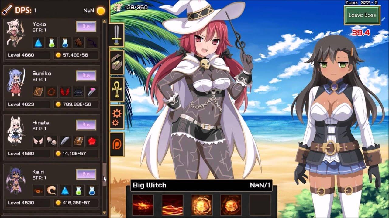 Sakura Clicker Final Reachable Zone Youtube