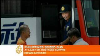 Hostages killed in Manila bus standoff