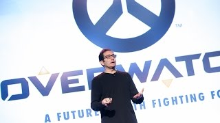 """""""Overwatch: How Blizzard Created a Hopeful Vision of the Future"""" - Jeff Kaplan"""
