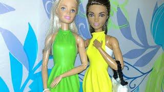MANUALIDAD: vestido hecho con globos para barbie💖 DIY balloon dress for barbie