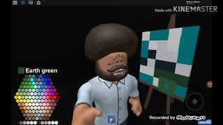 Bob Ross's The Joy of painting (roblox version) (cringy warning)