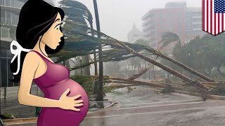 Hurricane Irma: Woman delivers own baby at home during massive hurricane - TomoNews