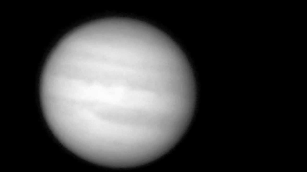 Jupiter Impact Video 2012 - YouTube