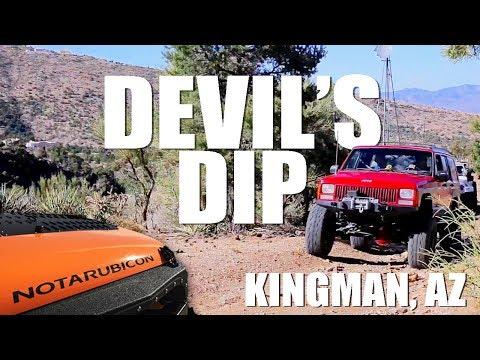 Devil's Dip Jeep Trail - Kingman Arizona