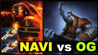 NAVI OG - LEGENDARY Rapiers Cliff Game 3 - SL i-League Dota 2