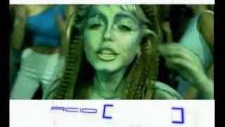 Смотреть клип Оксана Почепа Акула - Кислотный Dj