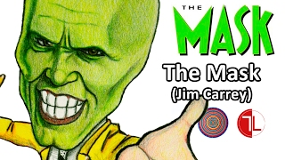 The Mask (Jim Carrey) Caricature - Speed Drawing