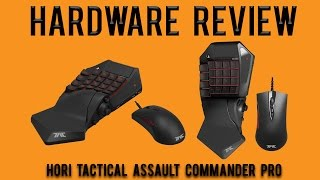 Hardware Review: Hori Tactical Assault Commander Pro (Hori TAC Pro) PS4,PS3,PC Keyboard and Mouse