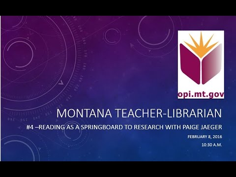2015-16 Teacher-Librarian Digital Blast #4