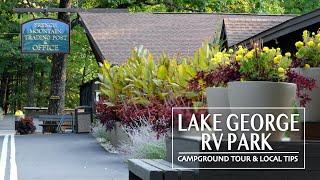Lake George RV Park Tour & Tips 4K
