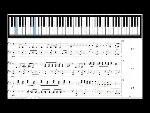 Portugal, The Man - Feel it Still - Advanced Piano Cover - Midi Sheet Music