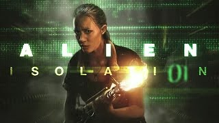 Zagrajmy w: Alien: Isolation #1 - Amanda [Obcy: Izolacja Gameplay PL / Let's Play PL]