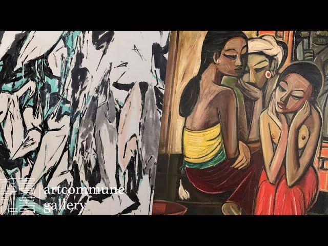 Artworks in Focus | Chen Wen Hsi's 'Cranes' & Cheong Soo Pieng's 'Meeting'