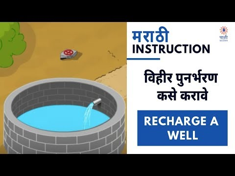 How To Recharge A Well | विहिर पूनर्भरण | Marathi Instruction