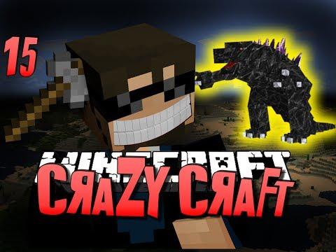 Minecraft CRAZY CRAFT 15 - CLIFF HANGER OP (Minecraft Mod Survival)