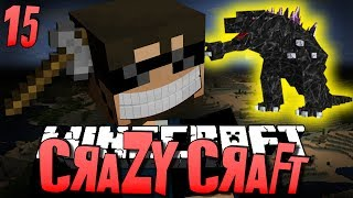 Minecraft CRAZY CRAFT 15 - CLIFF HANGER OP (Minecraft Mod Survival)
