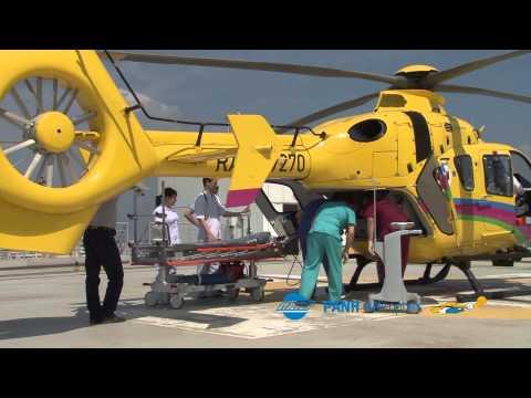 Вертолет санавиации в Краснодарском крае