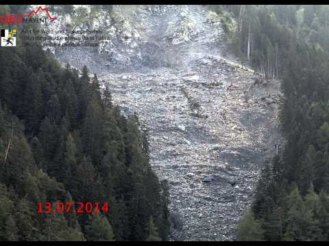 Watch A Timelapse Of A Slow-Moving Landslide [Video]