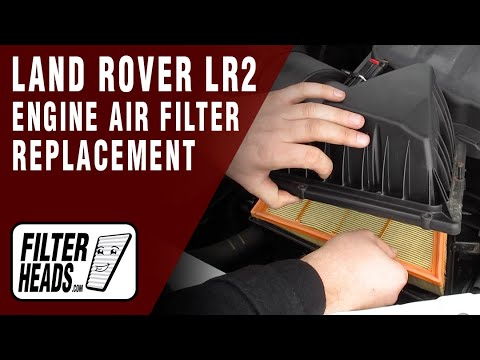 How to Replace Engine Air Filter 2013 Land Rover LR2 4 cyl. 2.0L