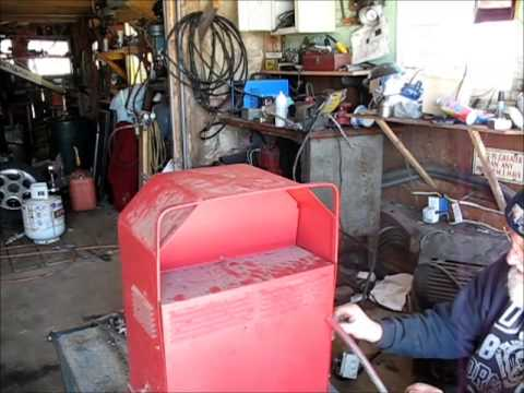 Lincoln Arc Welder Re assembly  YouTube