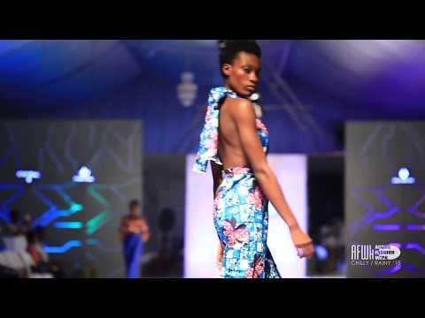 Figs Fashion (Ghana) @ Accra Fashion Week Chilly Rainy 2018
