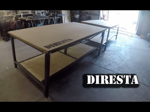 DiResta Steel Shop Tables