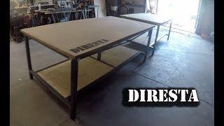 DiResta Steel Shop Tables