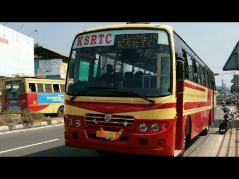 Ksrtc - Kondody autocraft body building | first bus spotted