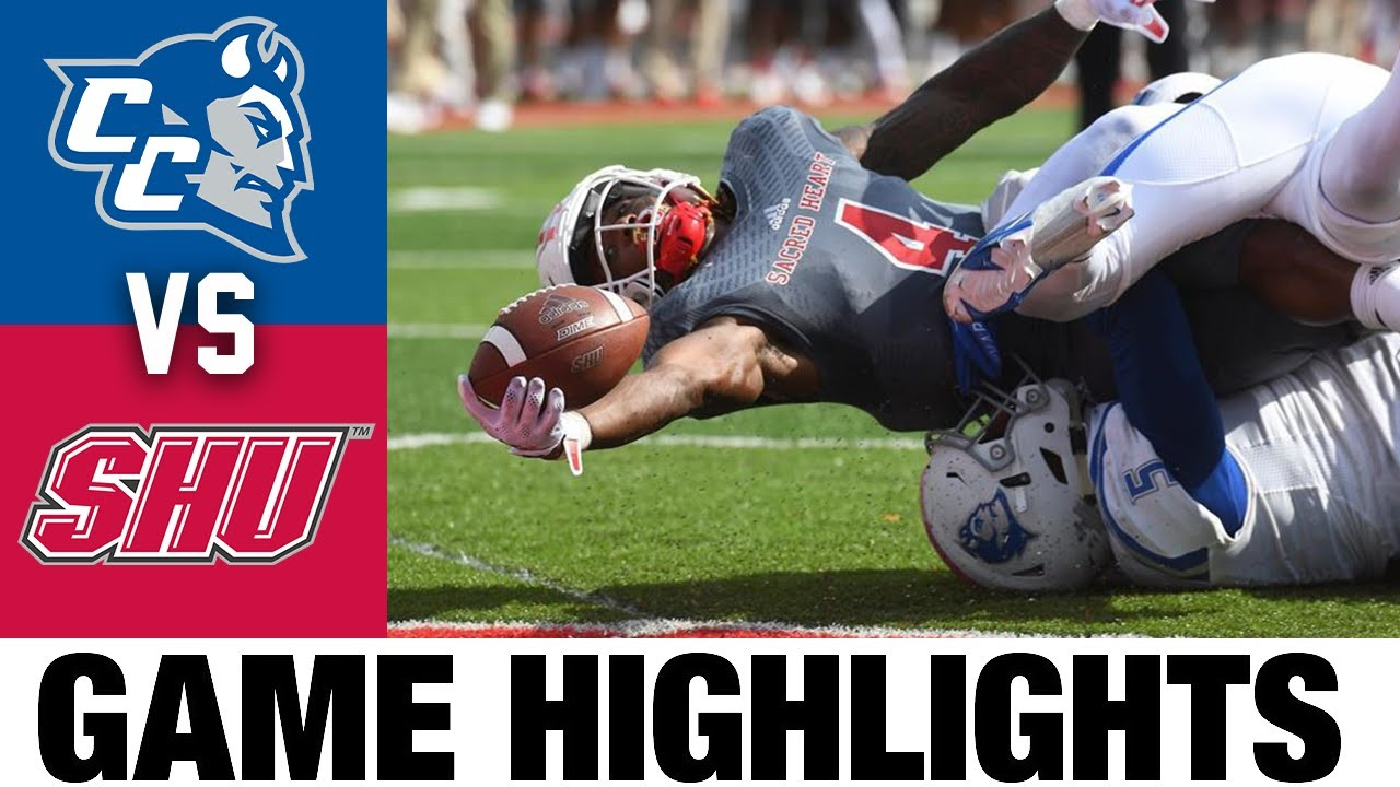 Central Connecticut vs Sacred Heart   FCS Week 7   2021 College Football