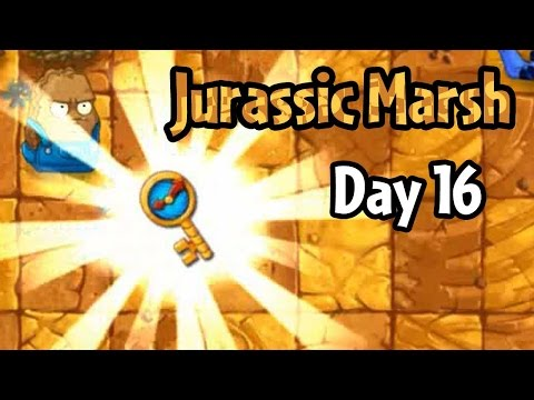 Plants vs Zombies 2 - Jurassic Marsh Day 16: Ultimate Battle