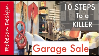 Interior Design | $15,000 Garage Sale ... SERIOUSLY!