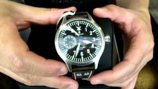 long version steinhart nav b uhr stainless steel art nr f0301 20101204