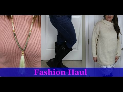 Fashion Haul | Shein | Make Me Chic | Nordstrom | Millitary Hippie | Sundance | Jan 17 | LisaSz09