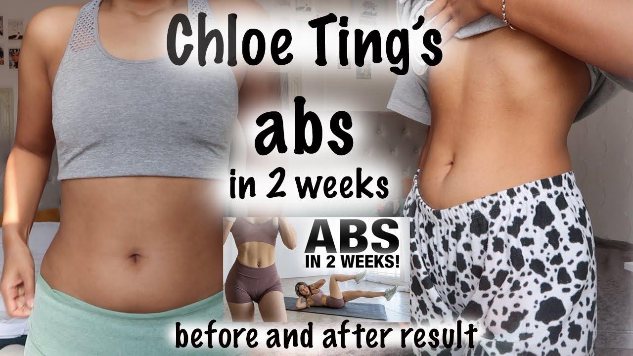 I Tried Chloe Ting's 2 Weeks Shred | Abs In 2 Weeks | Home ...