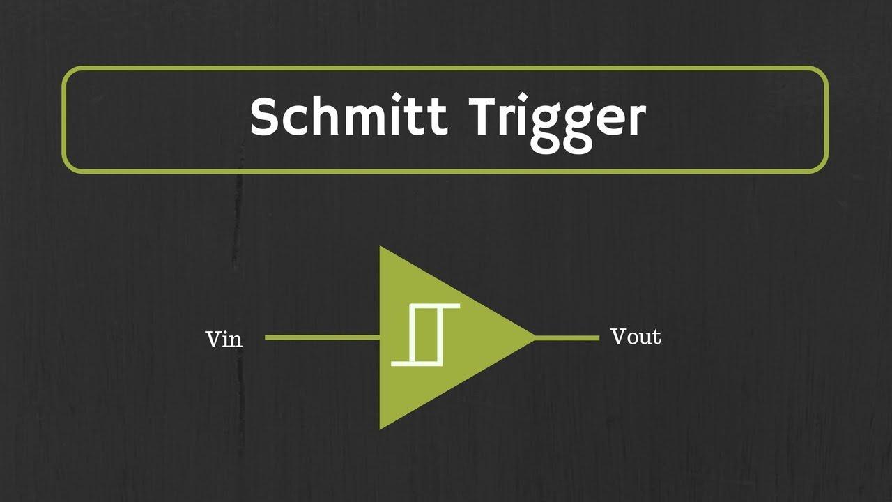 schmitt trigger explained (design of inverting and non invertingschmitt trigger explained (design of inverting and non inverting schmitt trigger using op amp)