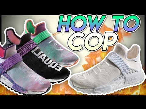 b6088002b  RETAIL  How To Cop The Pharrell Williams Human Race 2018 Lineup.