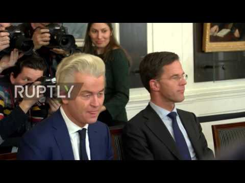 Netherlands: Rutte convenes with Dutch party leaders after election victory