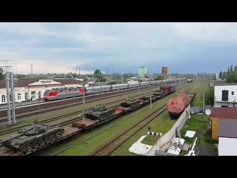 Прибытие поезда 126Э Москва - Новороссийск